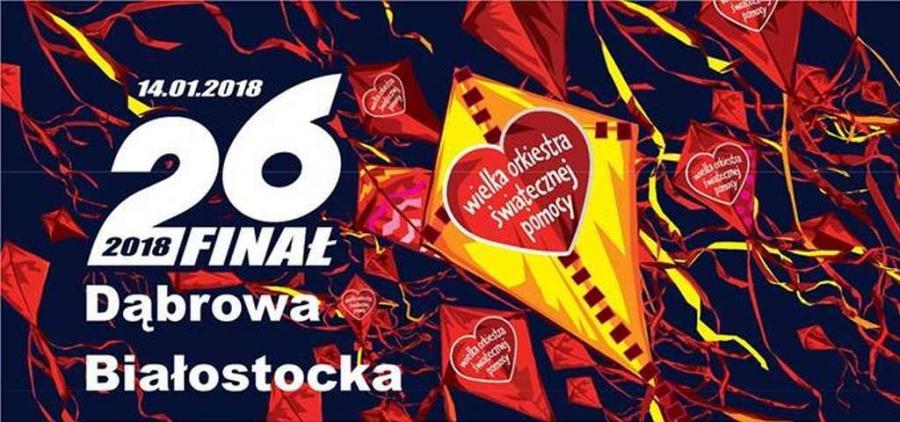 Wiemy Ile Zebrała Dąbrowa Białostocka Podczas 26 Finału Wielkiej